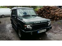 breaking green land rover discovery td5 manual lwb parts spares