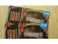 2 X Bristol Square Club New Year's Eve NYE Tickets