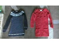 Girls Jumpers (2off) - Age 6