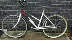 Hybrid Ladies City Bike - Raleigh Pioneer 21speed