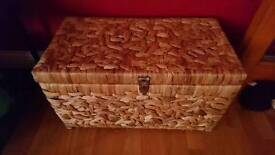 Wicker chest in good condition