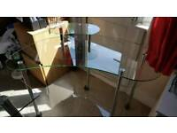 Glass table/desk, collection SE13