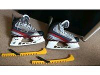 Ic skates mens UK size 10 Bauer Vapour X3