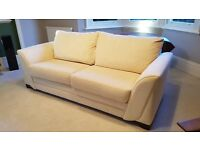 DfS Cream 3 or 4 Seater Sofa - in great condition!