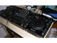 2 Pionner CDJ1000s & DJM800 For Sale Reduced by £100 today