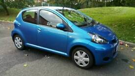 2010, Toyota Aygo + SAT NAV, 5dr, Excellent Condition, £20 Tax and low insurance group