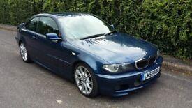 BMW 330Ci Coupe E46 2003 M-Sport Metallic Blue - Automatic