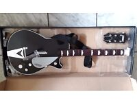 THE BEATLES ROCK BAND GEORGE HARRISON GRETSCH WIRELESS GUITAR FOR XBOX 360