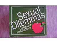 "Board Game ""Sexual Dilemmas"""