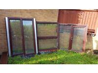 2 more sold, LAST FEW REMAINING - Mahogany UPVC double glazed 1 main door, 1 bay window, 2 windows