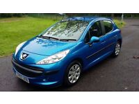 Peugeot 207 1.400cc, 07 Plate, *Two owners from new* 56000 genuine low miles