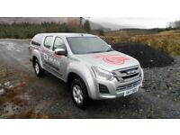 ISUZU D-MAX EIGER WITH WORK PACK AND CANOPY - OUR DEMONSTRATOR - LOW MILES