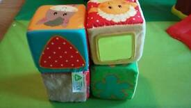Blossom Farm Touch and Feel Cubes 0+ Months