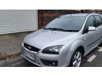 Ford focus estate zetec service history 12months mot cheap on fuel and tax aloy cd economical