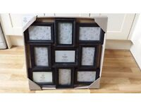 Multi Aperture Photo Frame in Black - NEW