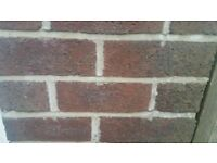 "Reclaimed 3"" wire bricks"