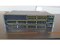 Cisco 2960S series Switch with stack module