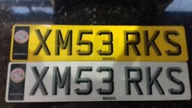 Marks Private Number Plate