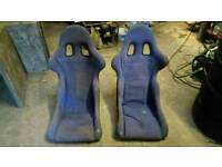 Grass track 4x4 racing bucket seats