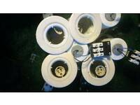 ****reduced*****7 reclaim recess spotlights white**reduced**