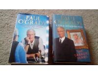 Two paul o grady books