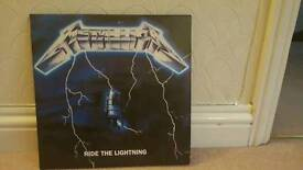Metallica Ride the Lightning 2lp 45Rpm