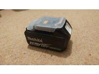 Makita 18v 3ah battery Brand New Never used