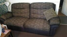 Dfs sofas fully reclining a large 3 and standard 2