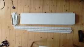 5 shelves and 6 brackets and 14 arms for sale