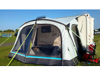 AIR AWNING - OUTDOOR REVOLUTION OXYGEN SPEED 2 with matching BEDROOM ANNEXE