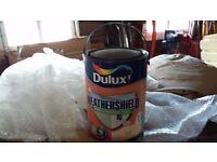 Dulux Weathershield masonry paint