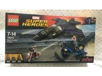 Lego marvel 76047 complete boxed