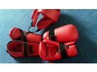 Protection kit for Martial Arts