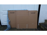 Double thickness cardboard boxes