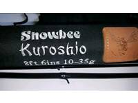 Snowbee kushoru 9ft3.lure /spinning brand new 4piece in case