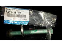 Mazda MX-5 mk1 & mk2 Alignment bolts (4 off), Mazda part No NAY9286AZ