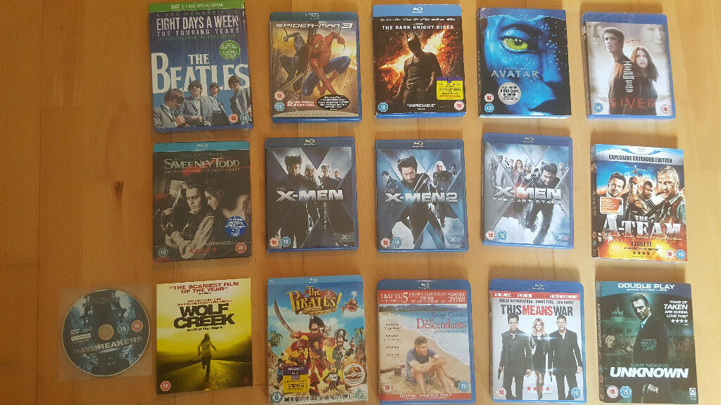 d9cdc70334e863 Blu-ray, DVD, Blu-ray 3D Movies, 3D Glasses , The Beatles: Eight Days a Week