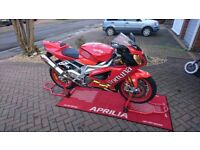 Aprilia Rsv 1000r, low mileage, excellent condition, new tyres