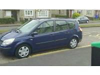 55 plate renault scenic 1.9 dci 7 seater mot march