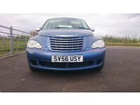CHRYSLER PT CRUISER,3 MONTHS AA WARRANTY ,LONG M.O.T. VERY LOW MILEAGE.