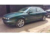 Jaguar X-Type 2.2D - Top Spec - Leather - SatNav - Fsh