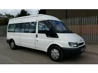Ford Transit minibus. Seats 12 Passengers. Wheelchair ramp installed. 12 Month MOT.