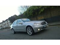 52 MERCEDES C CLASS AUTO C180 HPI CLEAR FAMILY CAR WELL MAINTAINED 2 REMOTES