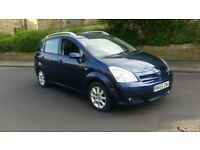 Blue Toyota Corolla Verso 2.2 D-4D T Spirit 5dr 7 Seater 147,000 Miles On Clock With Service History