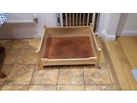 Dog's Wooden Bed