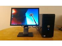 "FAST SSD - Dell Vostro 200 Computer Tower PC & 19"" Dell LCD - Last Few Left - Save £20"