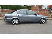 Grey Saloon Jaguar X-Type Car - Fully Serviced with MOT (Automatic)