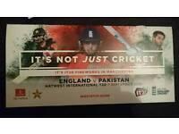 2 England v Pakistan T20 tickets Old Trafford