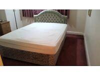 Divan Bed & Mattress King size