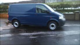 LATE 2007 VW 130BHP T5 6 SPEED MINT NO VAT